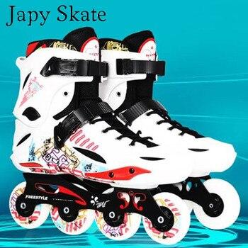 Japy Skate Original Freestyle perdido Slalom profesional Patines en línea  para adultos patinaje Zapata deslizante de patinaje Patines 2718c0a3e80