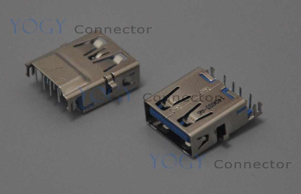 10 шт. оригинальный 16 мм Женский USB3.0 разъем, пригодный для ASUS a555l a555ld A555 серии, toshiba C840 c845 L730, Acer V5-571 ms2361