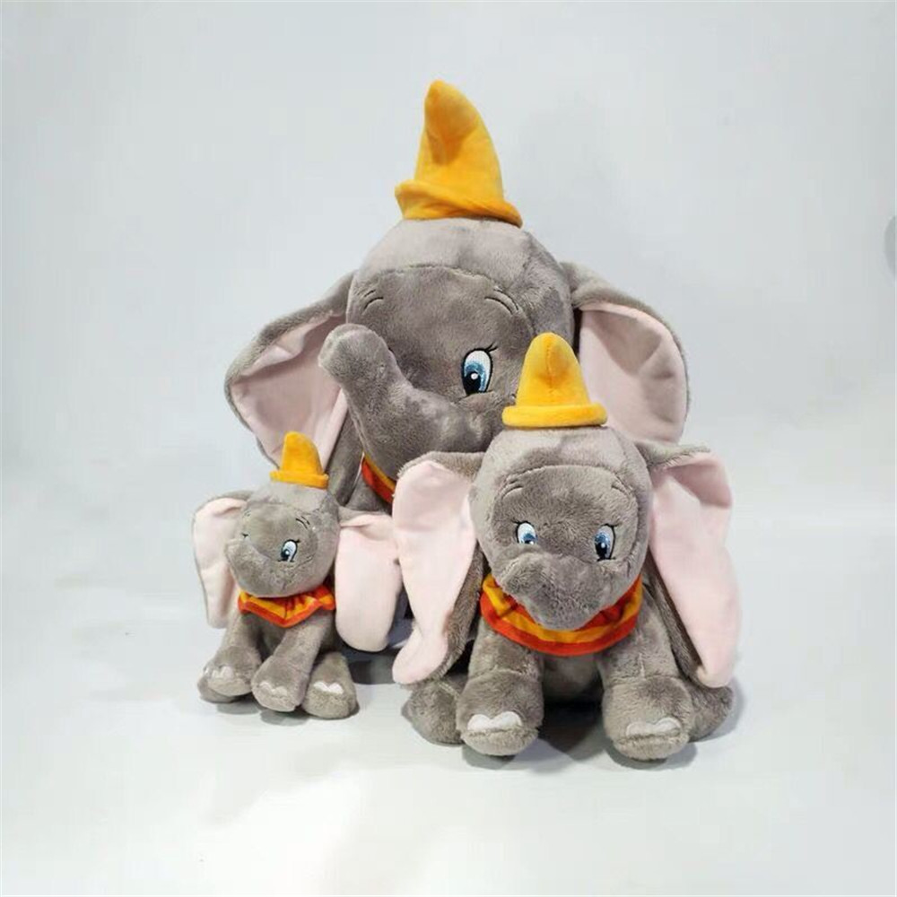 1pieces/lot Dumbo 18-43cm Plush Doll Elephant Toy Children's Toys Decoration Of Household Car Decoration Christmas Gift