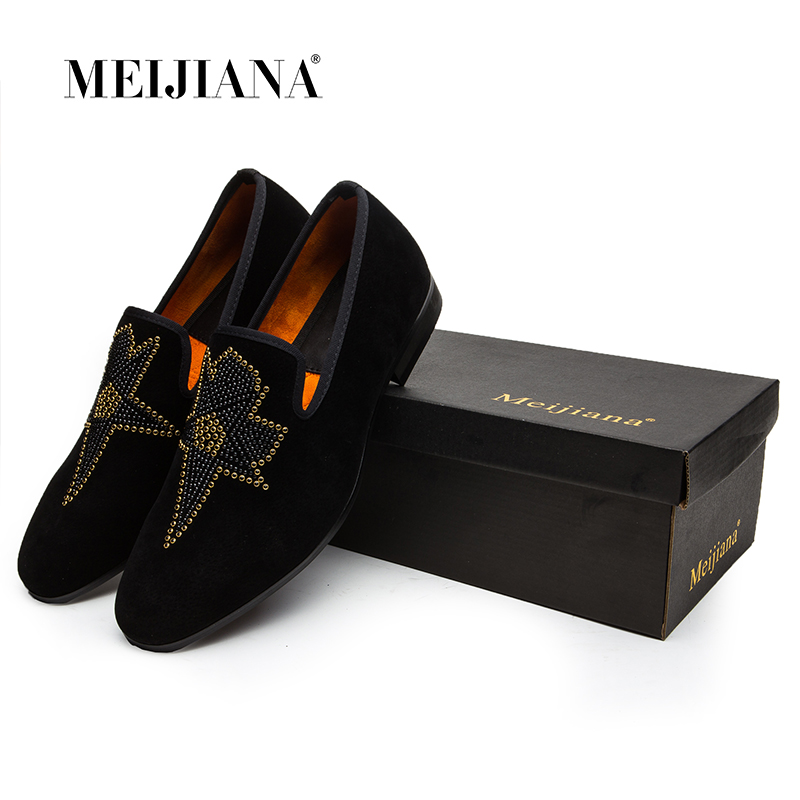 Mode New Automne En Non Chaussures Mocassins Cuir Plates 2018 Confortable Noir Printemps Loisirs De Forage Hot Hommes slip PqxUwv