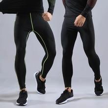 Compression Pants Leggings Sportswear-Pants Training-Legs Trousers Tight Fitness Men's