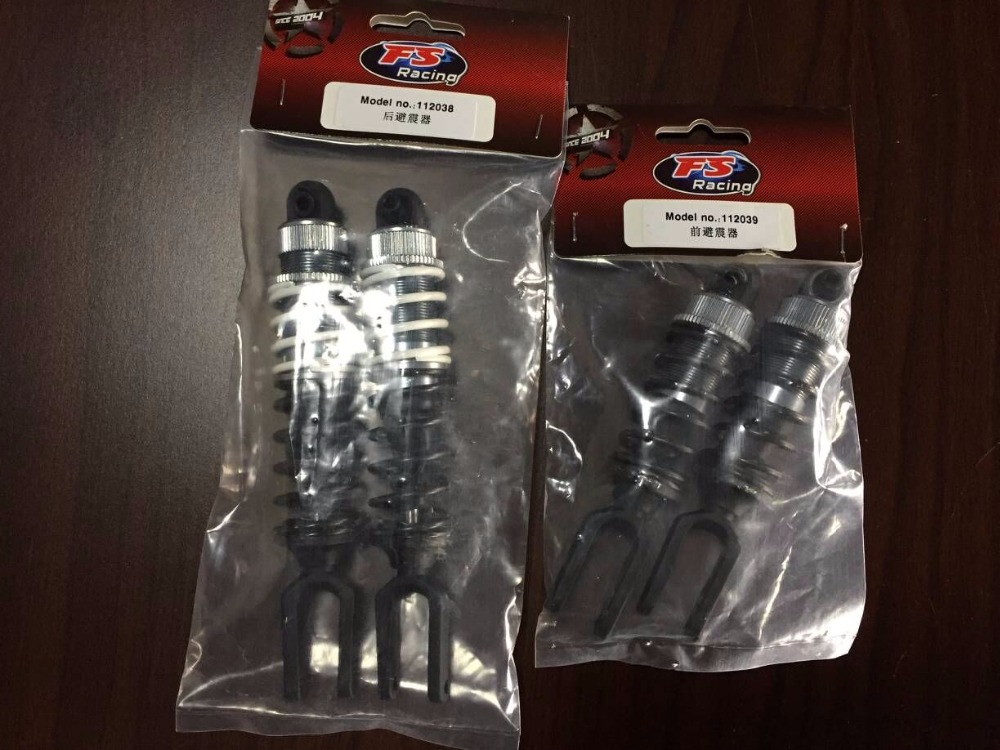 Alloy front& rear shock absorber for 1/5 rc car FS racing FG MCD CEN REELY partsAlloy front& rear shock absorber for 1/5 rc car FS racing FG MCD CEN REELY parts