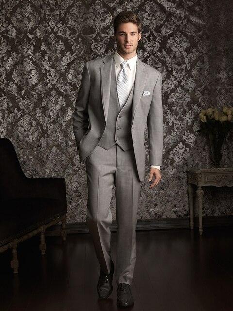 2016 Custom Made Men Wedding Suits With Pants Male Tuxedo Formal Suits Design 4 Piece (Coat+Pants+Vest+Tie)men Prom Suits