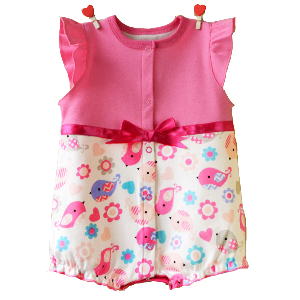 2018 baby clothing summer newborn designer baby clothes girls dress infant romper baby one piece bowknot jumpsuit climb clothes pudcoco newborn infant baby girls clothes short sleeve floral romper headband summer cute cotton one piece clothes