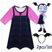 Anime Cosplay costumes Girls Dresses VampirinaCosplay Kids P