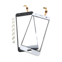 10 pcs/lot New Compatible for Oukitel K6000 Plus Touch Panel Glass Digitizer Sensor Mobile Phone Accessories Repair Part
