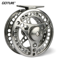 Goture Brand 5 6 7 8 9 10 WT Fly Fishing Reel CNC Machine Cut Fishing