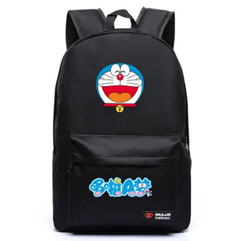 2017 Fashion Backpack Animation Doraemon for teenagers Doraemon canvas backpacks innovation school bags for women