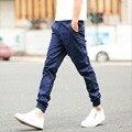 Nuevo Diseño Hombre Pantalones Hombres Basculador Pantalones Casuales Pies Vigas Rectas Pantalones Delgados Homme Plus Tamaño M-2XL KH869541