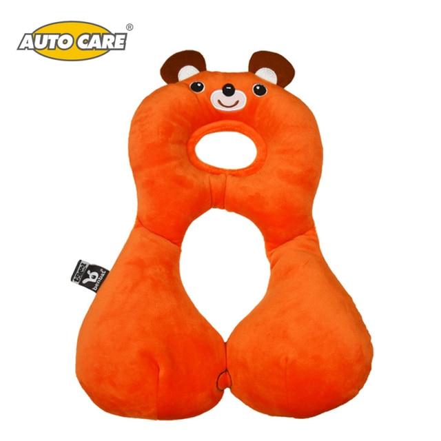 AutoCare Children 1-4 years Baby Neck Protection Soft Sleeping Car Headrest Cushion Cartoon Toys