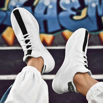 Turnschuhe Männer Atmungsaktiv High Top Schuhe Männlichen Trainer Laufschuhe Für Männer Athletisch Outdoor Sport Socke Schuhe MA-103