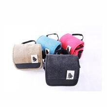 4 Colors Fashion small camera bag for NIKON D3000 D3100 D3200 D3300 D5000 D5100 D5200 SLR Digital Camera