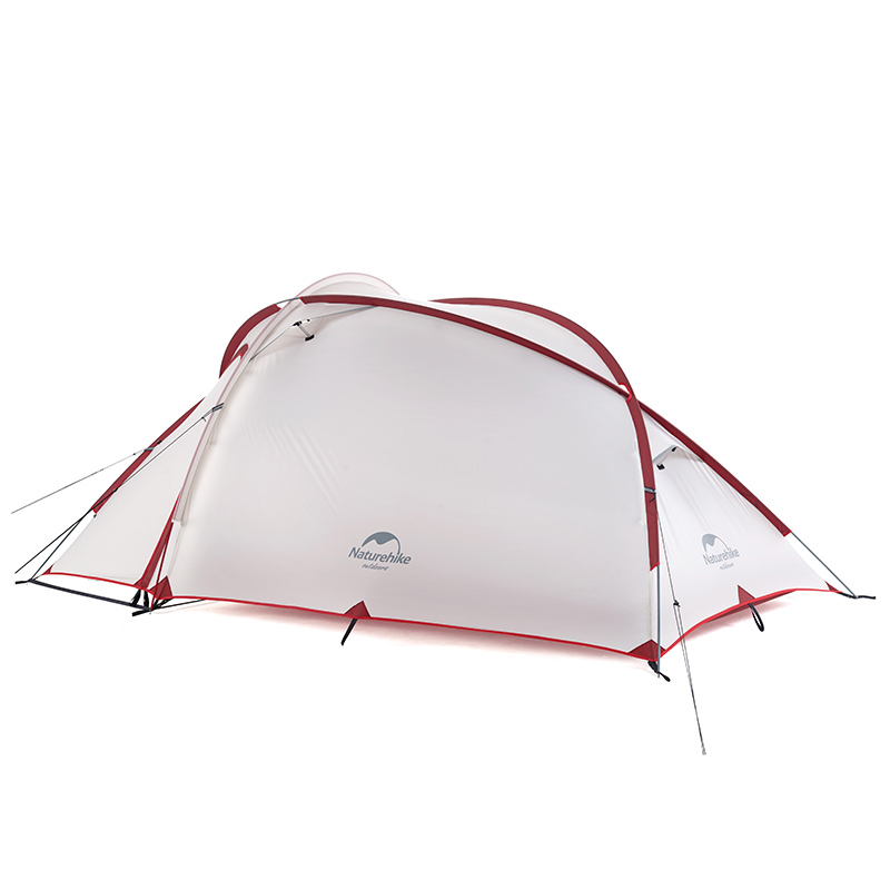 Naturehike Hiby Series Family Tent 20D/210T Ultralight Fabric For 3 Person  With Mat NH18K240 P-in Tents from Sports & Entertainment