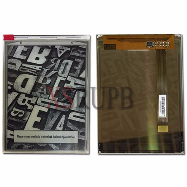 100% New Original 6 inch  ED060SCT eink LCD Display screen for ebook reader 800*600 free shipping