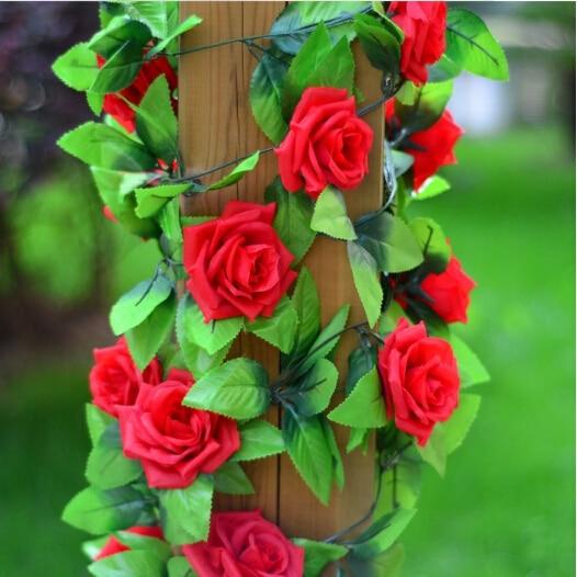 2.5M / ks domácí dekorace levné umělé růže květiny flores umělé rostliny svatební dekorace rostlin flores strana výzdoba