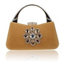 2016 Luxury Women's Totes Handbags Designer Purse Ladies Evening Wedding Bags Small Messenger Bags for Women bolsa High Quality