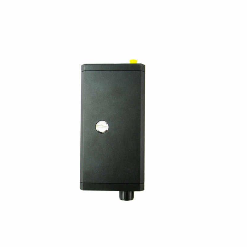 Высококачественный беспроводной проводной детектор жучков RF видео и аудио сигнал детектор черный RF металлоискатель Для govermant и полиции 007A