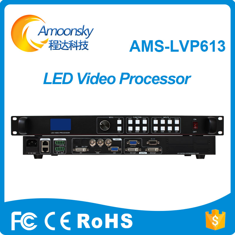 Amoonsky LVP613 LED Video Processor Support P1.667 P1.5 P2 P2.5 P3.91 P4 P5 P6 P10 Indoor Outdoor LED Screen Hot Selling Items