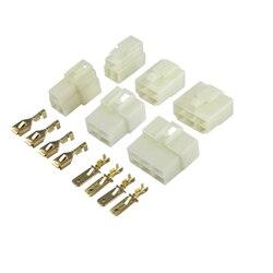 Conectores de cable de nailon para automóviles, conectores de cable de 6,3-2 mm2 PA66 de 1, 2, 2 y 3P/4 P/6P/8P o 1 Juego de 12 o 14 pines de 0,5 MM