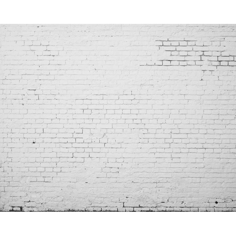 Seamless Vinyl Photography Background Old White Brick Wall Newborn Computed Printed Children Backdrops for Photo Studio ZR-60 allenjoy photography backdrops background gray sofa wall newborn girl bed headboard children baby shower studio