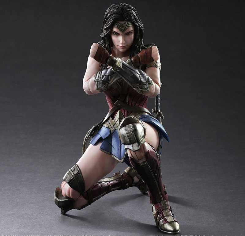 عجب امرأة الشكل باتمان سوبرمان اللعب الفنون كاي عجب امرأة البديل العمل PVC الشكل عجب فتاة ديانا الأمير 25 سنتيمتر ألعاب الدمى