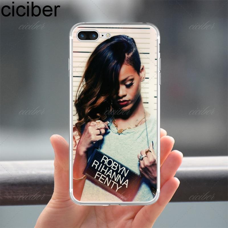 ciciber Phone Cases Rihanna Anti Work Drake Soft Silicon TPU Case Cover for Apple Iphone 7 6S 6 8 Plus 5S SE X Capinha Coque
