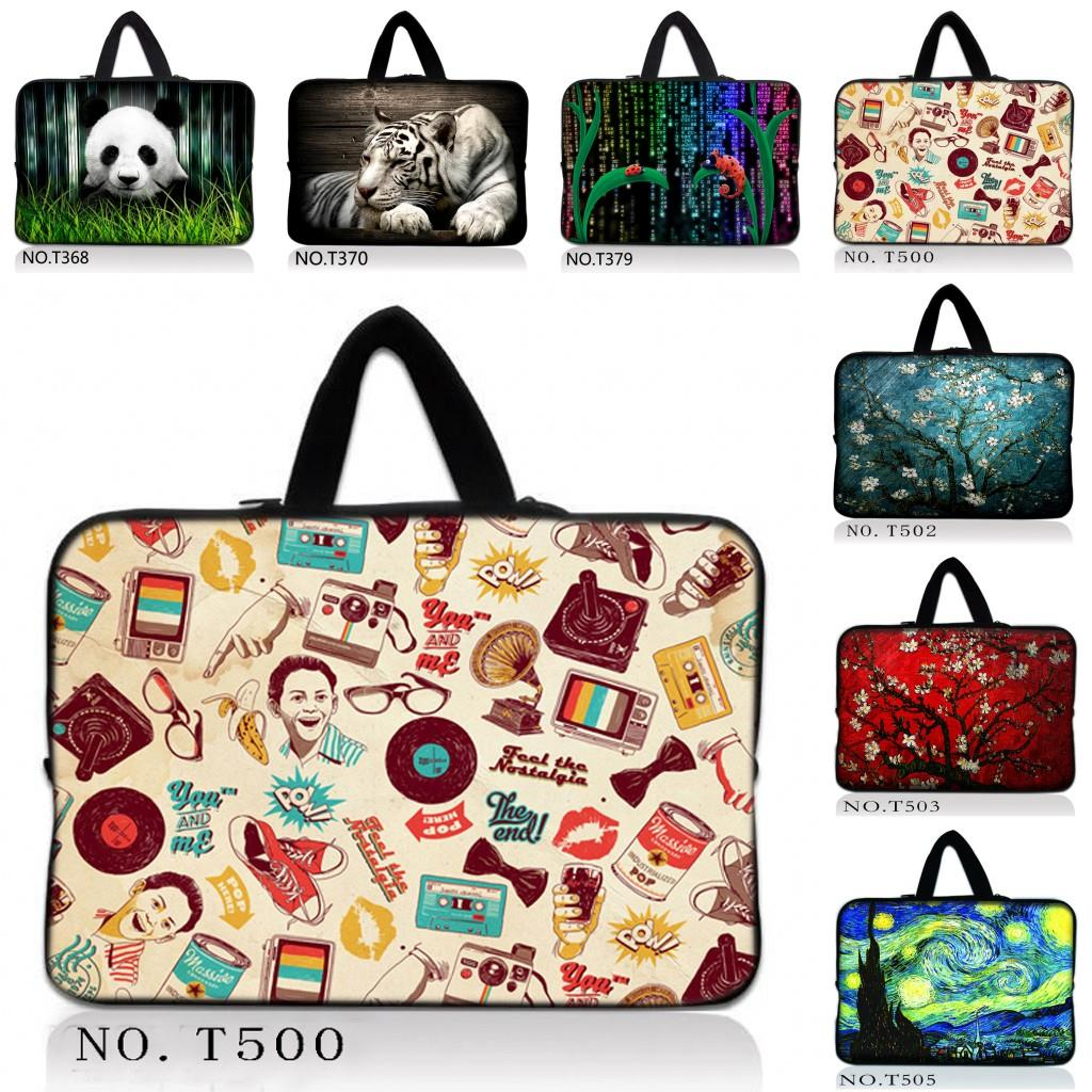 Hot Design Soft Sleeve Case Bag Cover + Hide Handle For 14/14.1/14.4/14.5 inch Laptop No ...