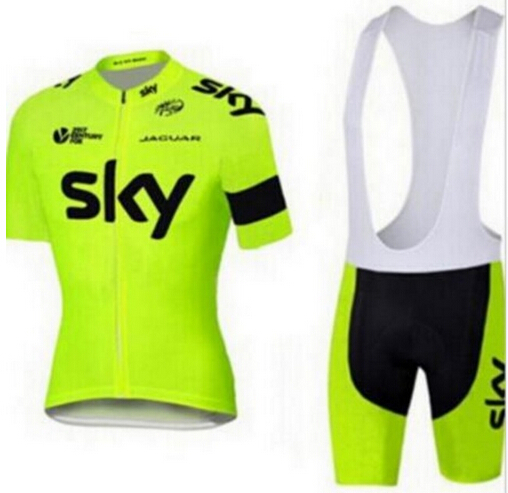 2017 Sky Team 100% Polyester Breathable Pro Cycling Jersey Summer Mtb Bicycle Clothing Ropa Maillot Ciclismo Bike Clothes Sets cycling clothing rushed mtb mavic 2017 bike jerseys men for graffiti cycling polyester breathable bicycle new multicolor s 6xl