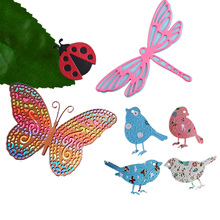 Butterfly Dies Bird Cutting 2019 New dragonfly Metal die Ladybug Craft for Scrapbooking card making Knife model