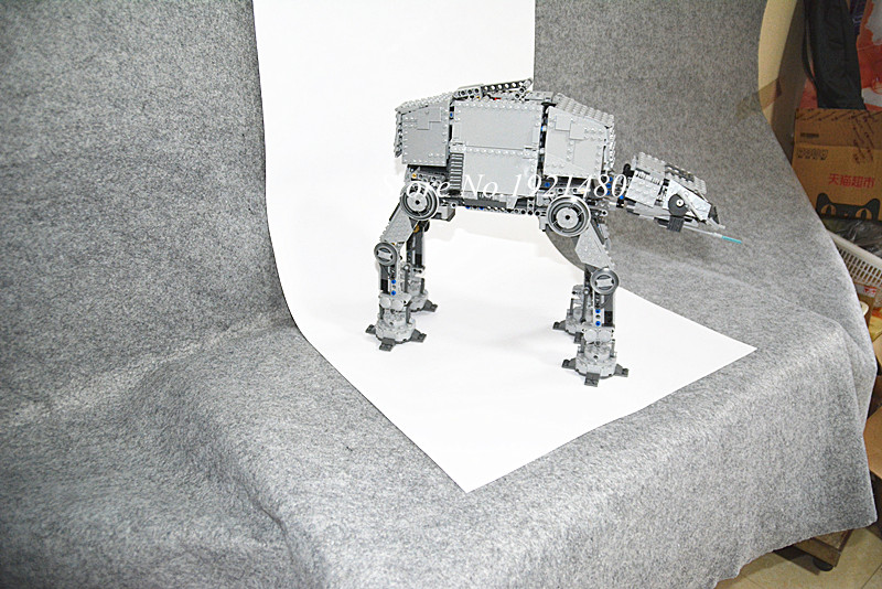 05050 1137pcs Star War Series AT-AT the Robot Electric Remote Control Building Blocks Toys Compatible 10178 for children