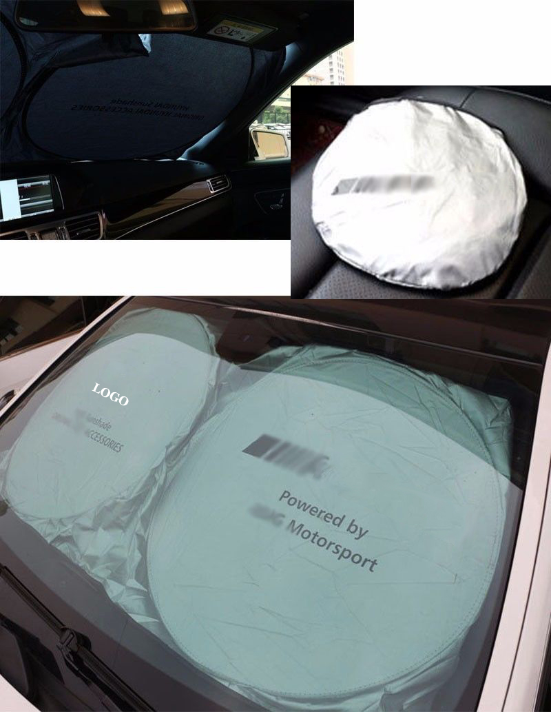 Mercedes benz sun shade with logo for Mercedes benz car sun shade