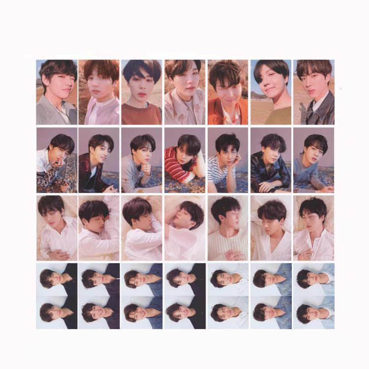 KPOP Bangtan альбом для мальчиков LOVE YOURSELF Tear поддельная любовь самодельная бумага Lomo карта фото плакат в виде карты