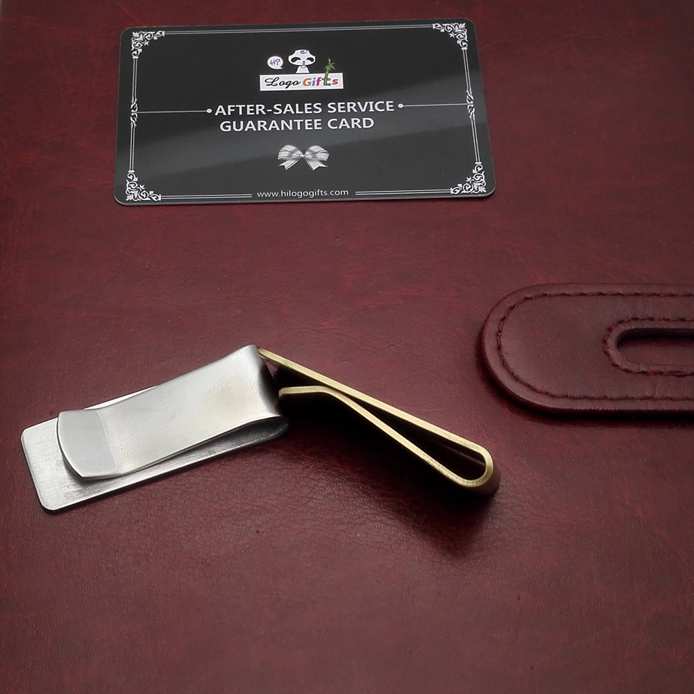 0 8mm 1 5mm High quality dollars clip customized with your Company logo and art text 5pcs a lot in Clips from Office School Supplies