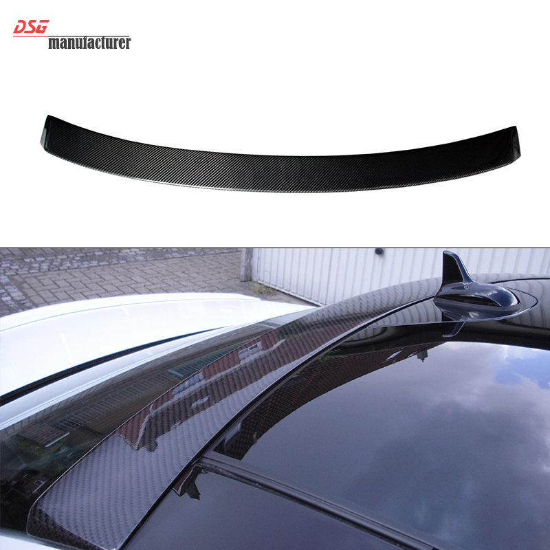Mercedes W204 Carbon Fiber Roof Spoiler for Benz Sedan C180 C200 C220 C250 C280 C300 C320 C350 2007 - 2014 amg style w205 carbon fiber rear trunk spoiler for mercedes benz w205 c180 c200 c220 c250 c300 c350 c400 c63 amg 2015 2017