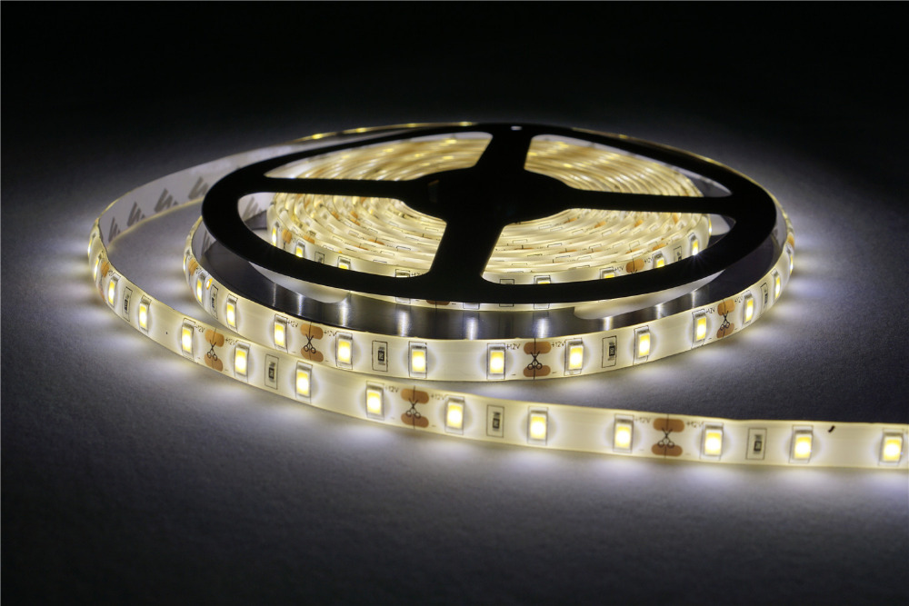DC12V LED strip 5630 flexible light 60LEDs/m 5m IP65 Waterproof SMD 5630 LED Strip Light Controller