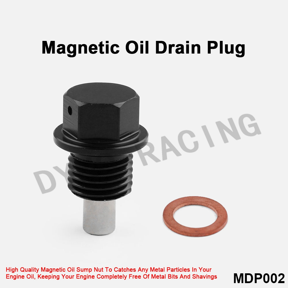 Blue Racing Magnetic Oil Pan Drain Plug Bolt With Washer Fits All Mazda Cars
