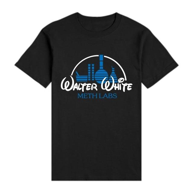 2749746ba Breaking Bad T Shirt Walter White Meth Labs Cook Print T-Shirt Jesse  Pinkman Aaron