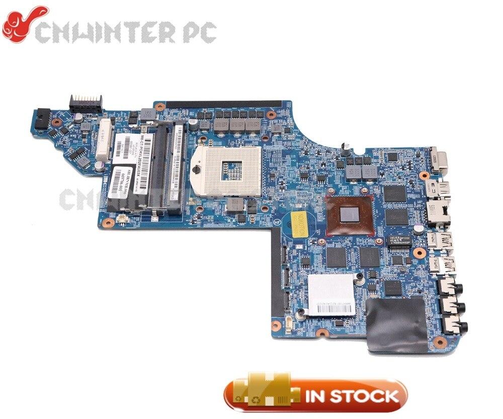 NOKOTION 639391-001 665991-001 For HP Pavilion DV7 DV7-6000 Laptop Motherboard HM65 DDR3 HD6770M Video card