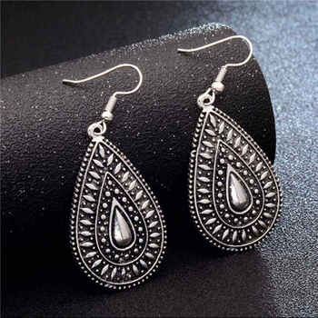 Fashion Metal Dangle Earrings Earrings Jewelry Women Jewelry Metal Color: GA724