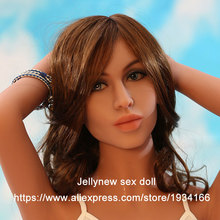 silicone doll head,realistic solid sex dolls,oral depth 13 cm,Fit body height:135,140,145,153,158,161,163,165,168 cm