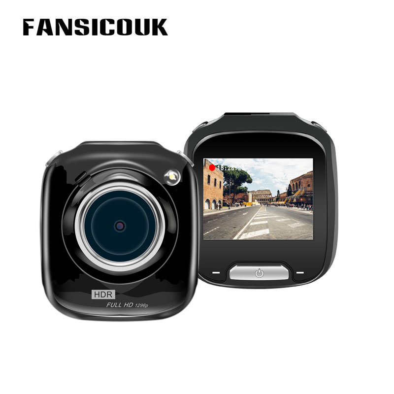 FANSICOUK Mini DVR Wide Angle Video Recorder 1080P Camcorder Night Vision Auto Camera Cycle Record Dual Lens Rear View Dash Cam