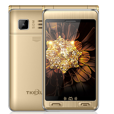 Back To Search Resultscellphones & Telecommunications G10 Plus Dual Screen Analog Tv 3.5 Inch Touch Screen Sos One Key Dial Feature Phone Lustrous Surface Luxury Flip Mobile Phone Tkexun G10