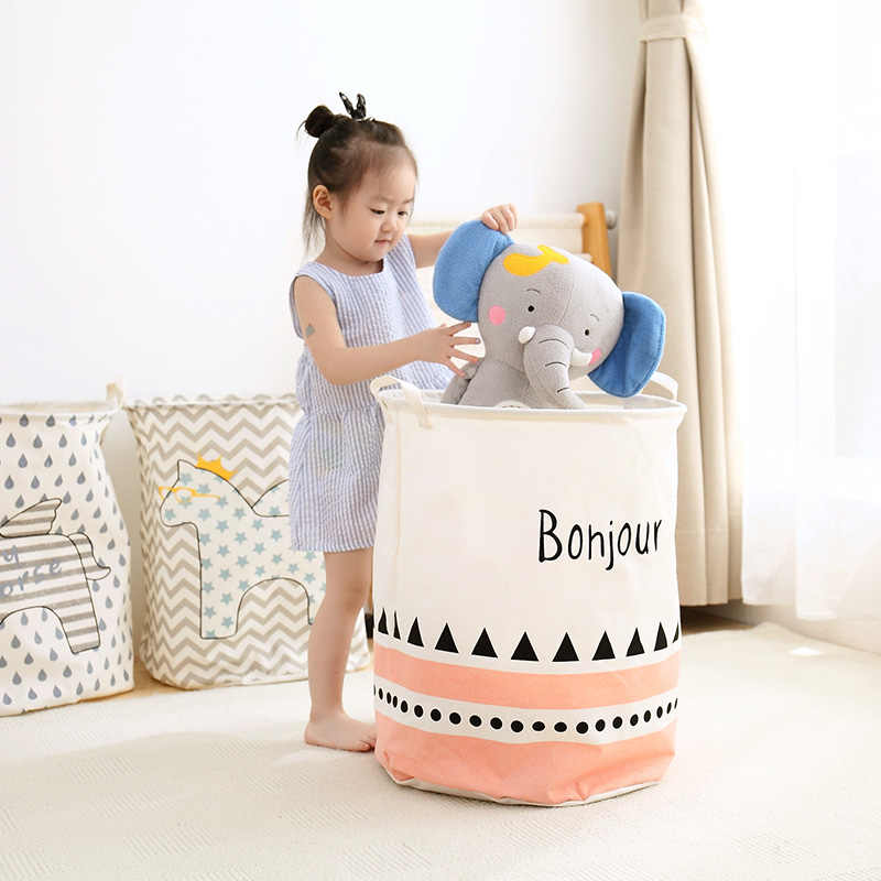 Brinquedo cesto de roupa dobrável cesta cestas de armazenamento do banheiro cesta de armazenamento de roupas organizador/caixa de plástico para brinquedos/roupa suja