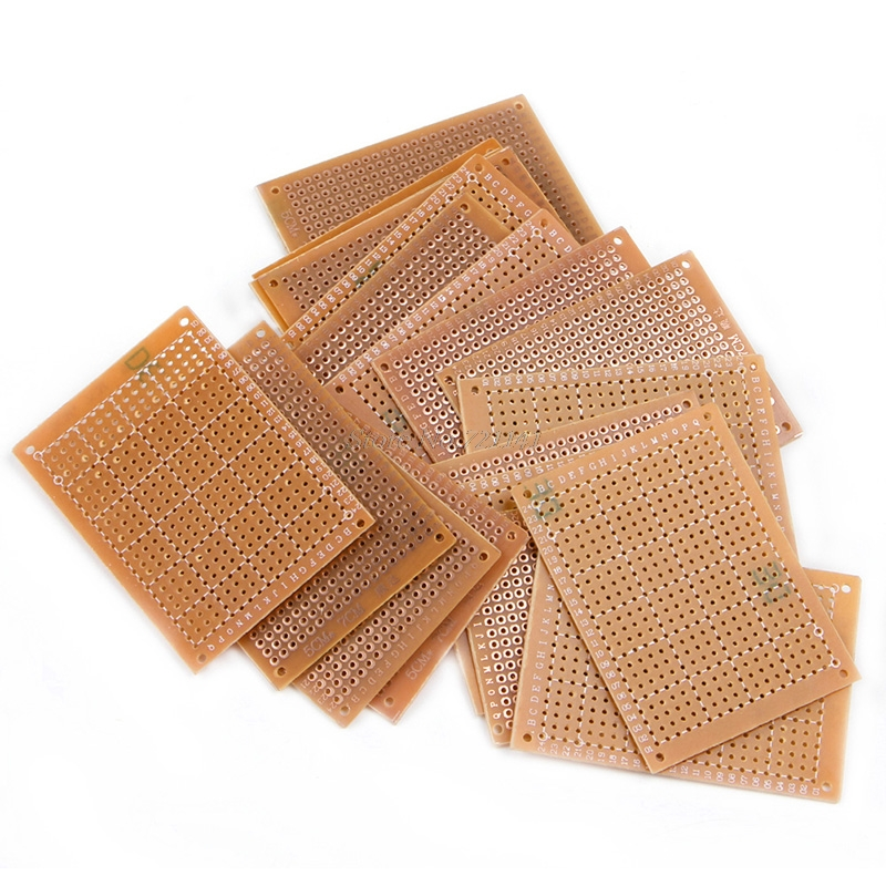20pcs 5*7CM Single-side Prototype Circuit Board Veroboard Stripboard DIY PCB HOT