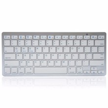 Беспроводная связь Bluetooth мини клавиатура для iOS Apple MacBook IPad Android Microsoft