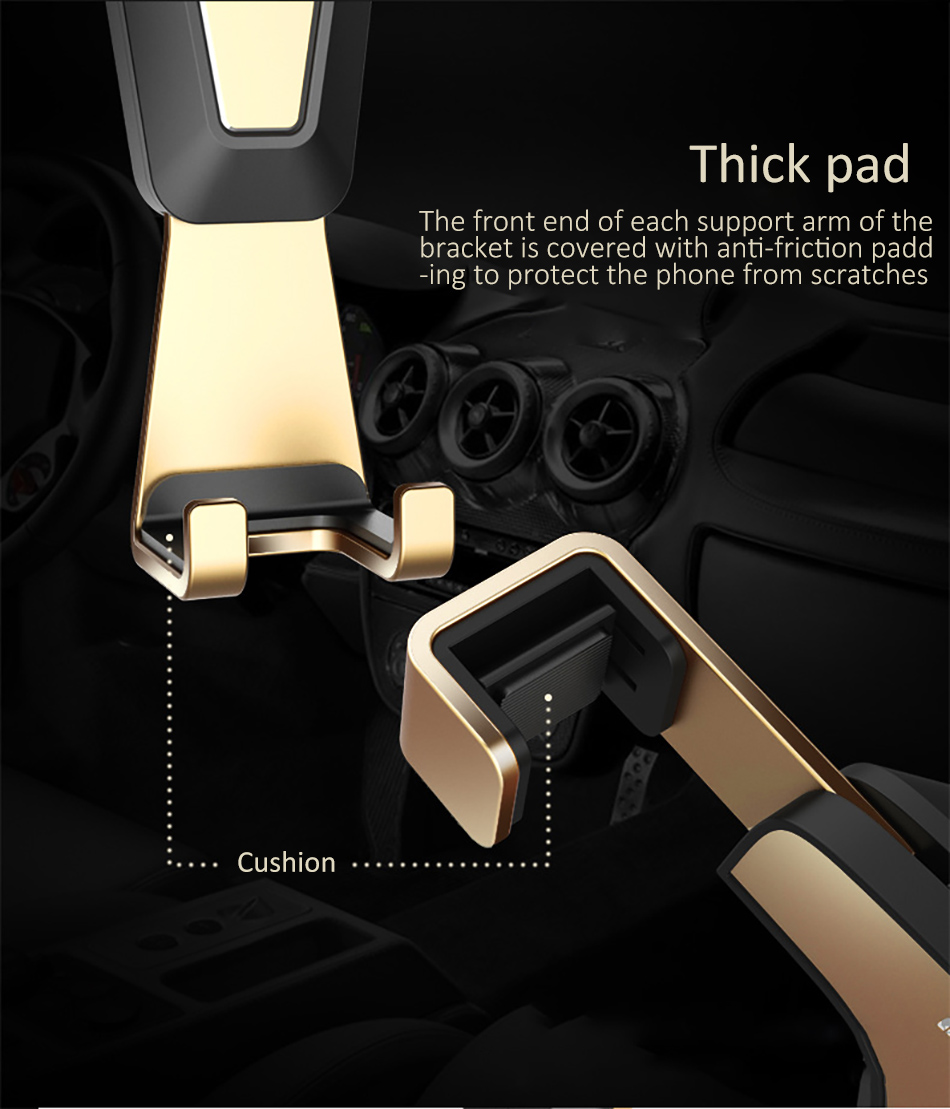!ACCEZZ 360 Air Vent Mount For Huawei P20 iPhone 8 7 6 6s Plus Xiaomi 5 Samsung S8 S9 Degree Adjustable Gravity Car Phone Holder (9)
