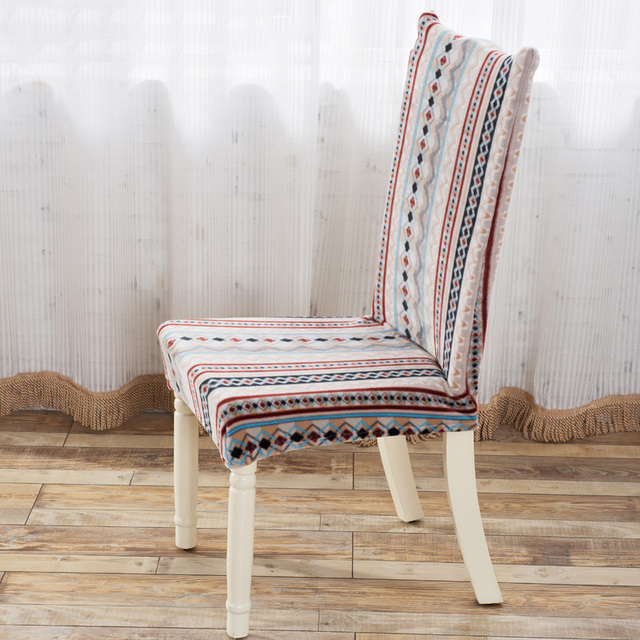 Home Chair Cover Spandex Modern Dirty Resistant Stretch Dining Room Protector Slipcover Seat Covers For