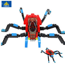 Купить с кэшбэком 2016 High Quality Super Hero Building Blocks Compatible With LEGO Spiderman Bricks Boy Educational Toys Birthday Gift Brinquedo