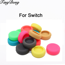 100pcs Silicone Analog Thumb Stick Grips Caps for Nintend Switch NS JoyCon Controller Sticks Cap Skin for Joy Con Cover