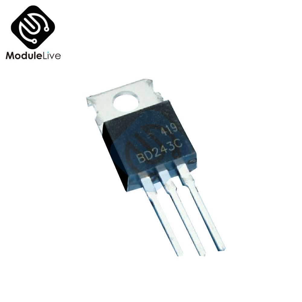 BD243 BD243C Chip Mini Tesla Coil Kit Alat Peraga Sulap DIY Bagian Kosong Lampu Teknologi Elektronik Modul Papan DIY Kit
